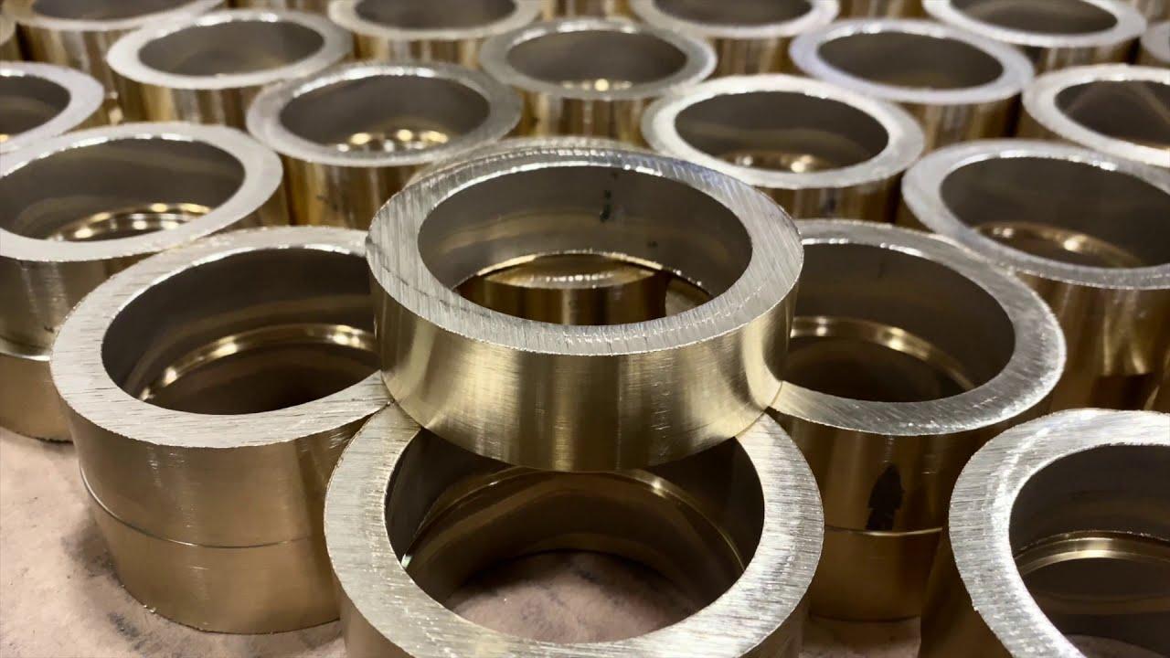 Oddly Satisfying Manufacturing #2: Bronze Ring