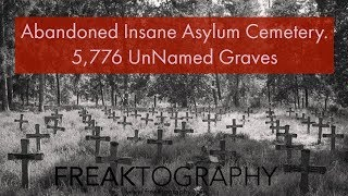 Exploring the Historic,  Derelict and Tragic Willard Asylum Cemetery (Freaktography Travel Vlog)