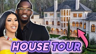 Cardi B & Offset House Tour 2020 | New Buckhead Atlanta Mega Mansion