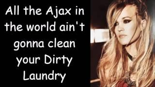 Gambar cover Carrie Underwood ~ Dirty Laundry (Lyrics)