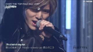 [Vietsub+Kara][Buzz Rhythm] Hey! Say! JUMP  -「Over The Top」