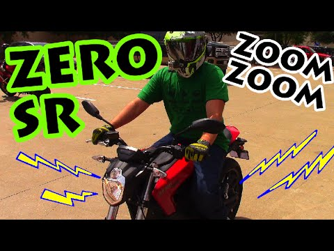 Zero SR Electric Motorcycle Test Ride Review