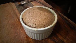 מתכון לסופלה שוקולד חם ואוורירי