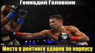 Геннадий Головкин-в рейтинге ударов по корпусу/Новости бокса.