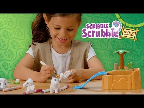Crayola Scribble Scrubbie Safari Creative Animal Toy Set for Kids || Crayola Product Demo