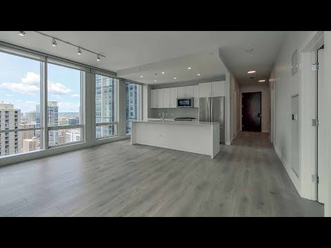 A River North 1-bedroom CA3 at the new One Chicago Apartments