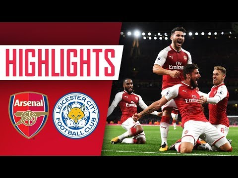 WHAT A NIGHT! Arsenal 4 - 3 Leicester City   Goals and Highlights