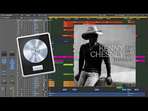 Kenny Chesney - Tip of My Tongue (Logic X remake prod. by Insight)