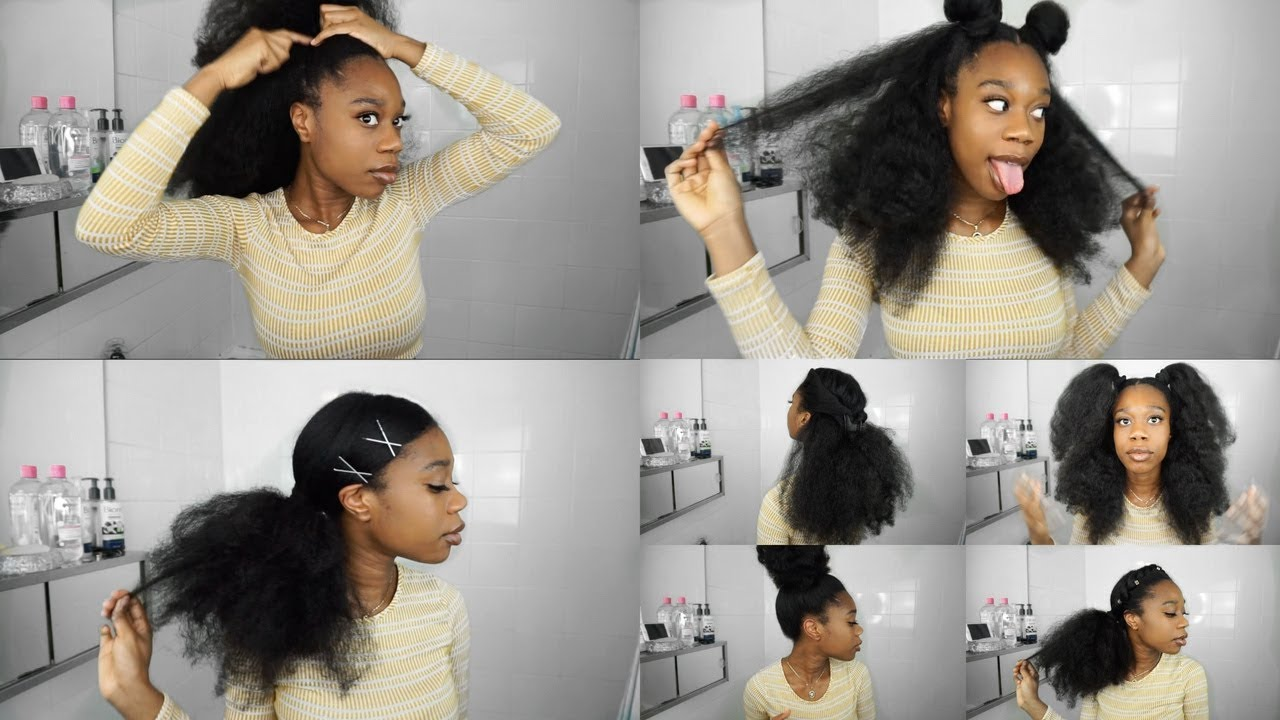 YouTube Video Of The Week-13 NATURAL HAIRSTYLES