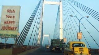 A car ride on Vidyasagar Setu
