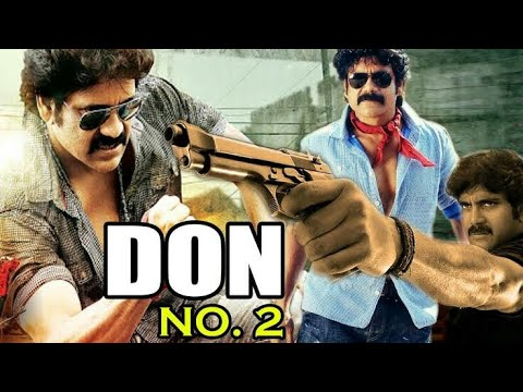 | DON NO.1 part 2 | Nagarjuna's action dialogue Hindi tollywood Movie spoof |