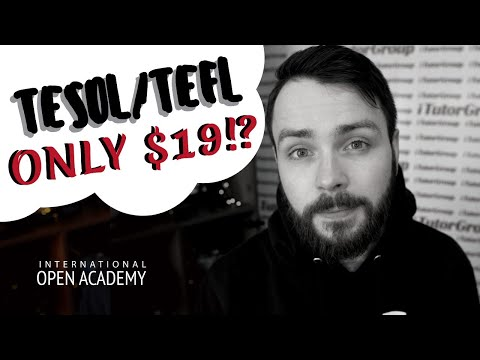 How To Get A Cheap, But Effective TESOL / TEFL Certificate (ONLY ...