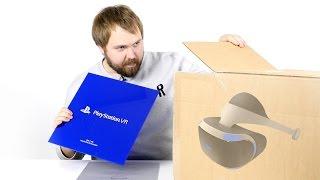 Распаковка Sony PlayStation VR