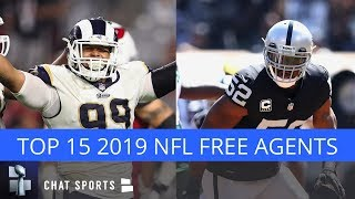 Top 15 NFL Free Agents In 2019