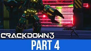 CRACKDOWN 3 Gameplay Walkthrough Part 4 - KHAN BOSS (Full Game)