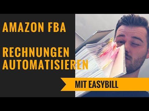 Amazon FBA Rechnungen automatisieren - DAS wichtigste Tool