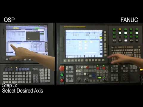 "Okuma OSP & FANUC CNC Control Procedures: ""Work Zero Offset"""