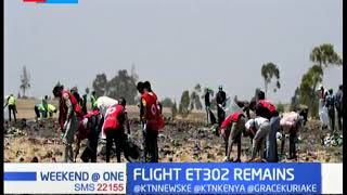 Remains of Kenyans from the ET302 flight to arrive on Monday