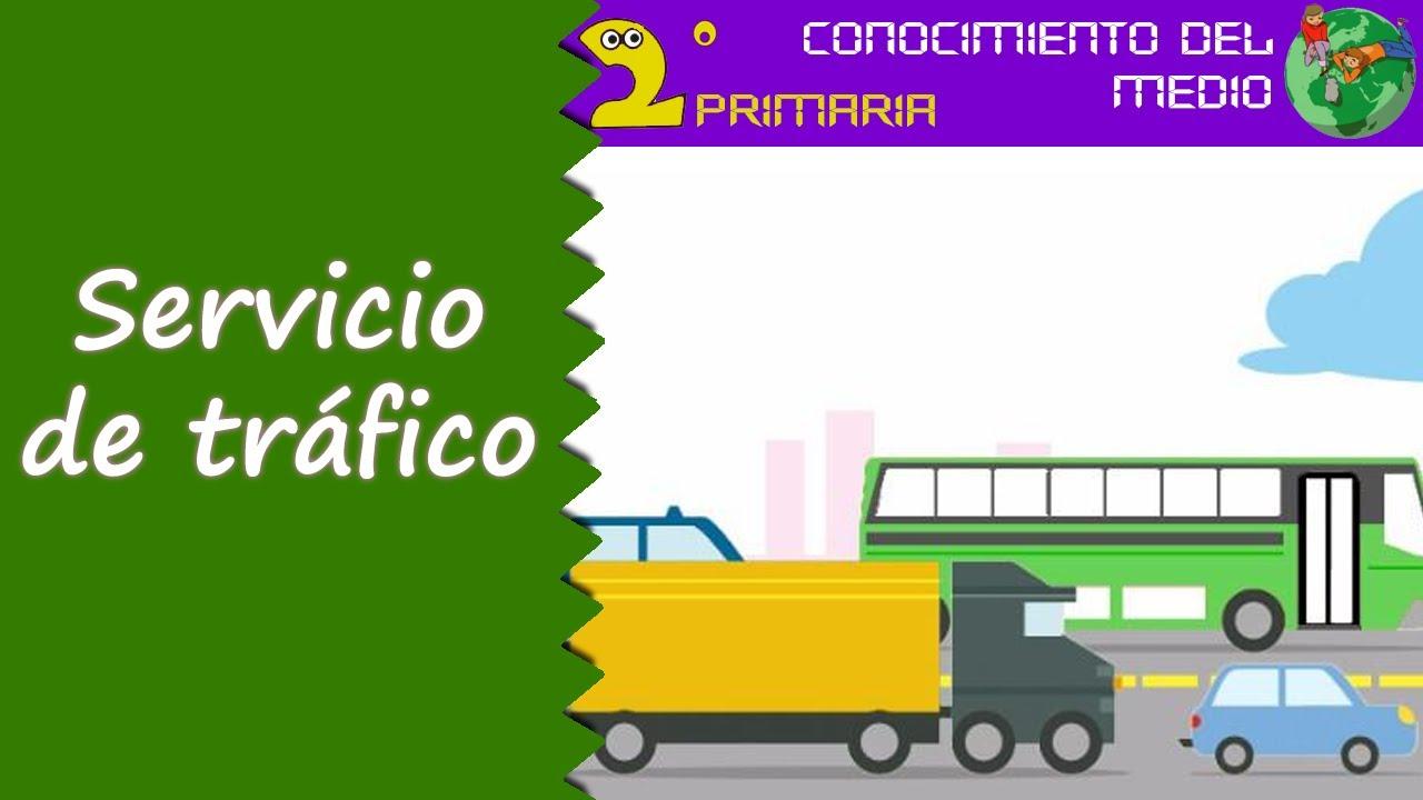 Cono, 2º Primaria. Tema 11. El servicio de tráfico