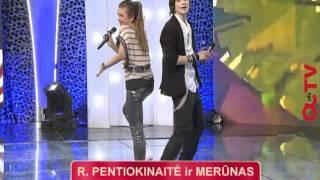 Bartas , Eurovizijos vaikai Eglė ir Bartas sudainavo populiariausiame Lietuvos projekte (11 laida)