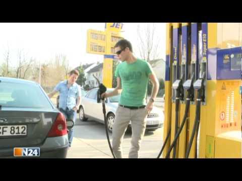 Wieviel gibt des Benzins 9 aus
