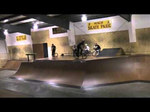 Riders Riding Muncie Skatepark