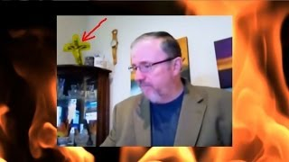 Paul Begley And His SATANIC Crucifix!