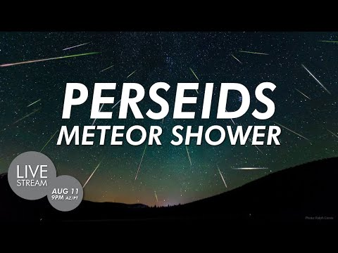 Perseid Meteor Shower at Lowell Observatory | Perseids 2020