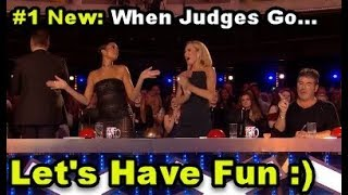 #1 NEW: 10 *HILARIOUS FUNNY* Auditions! Let's Have Some Fun :) Britain's Got Talent (BONUS at 12:55)
