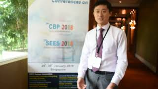 Mr. Yi Yang at SEES Conference 2018 by GSTF Singapore