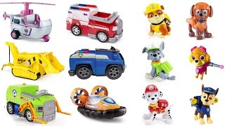 - Help Paw Patrol Pups Match Vehicles