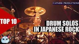 TOP 10: Drum solos in J-Rock/Visual kei | Catness Productions