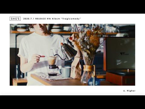 SHE'S (シーズ)- 4th Album『Tragicomedy (トラジコメディ)』7月1日リリース