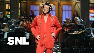 Monologue: Jim Carrey As Helvis Sings About Pecan Pie   SNL