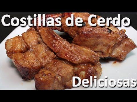 Como Hacer Costillas de Cerdo Deliciosas - Recetas Colombianas Faciles y Rapidas