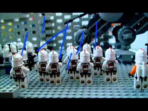 Lego Star Wars Clone Base - TexasLegoBoy