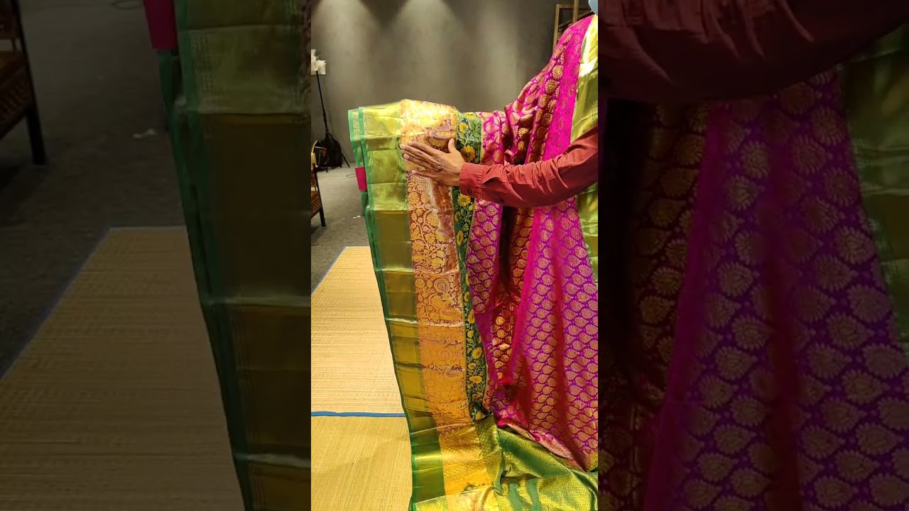"""<p style=""""color: red"""">Video : </p>BROCADE PATTU SAREES FROM MUGDHA FOR ORDERS 9949047889 2021-10-14"""