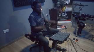 UDUE   Waje Ft Johnny Drille   Hojay Barbs Drum Cover With The Yahama DTX Multi 12