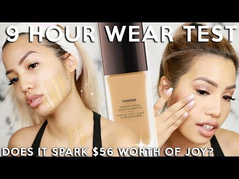 OH MAN… THIS NEW HOURGLASS VANISH LIQUID FOUNDATION | WEAR TEST REVIEW