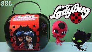 ЛОЛ Сюрприз ЛЕДИ БАГ Custom LOL Surprise Miraculous LadyBug