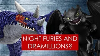 Download Youtube: A Night Fury met the Dramillions? THEORY [ HTTYD l Race to the Edge ]