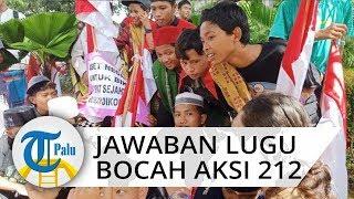 Jawaban Lugu Bocah Peserta Aksi 212 di Monas, Singgung Presiden Jokowi