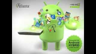 Atlanta Smartbox G3 - Android İşletim Sistemli Full HD Uydu Alıcı