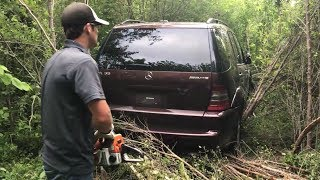 I Needed a Chainsaw to Extract My Stolen Mercedes ML55 AMG