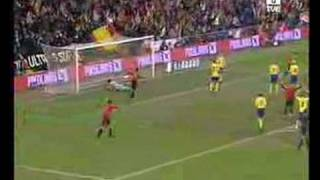 Goles España vs Suécia