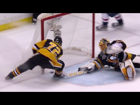Gotta See It: Kuznetsov starts celebrating but is robbed by Fleury and Hornqvist