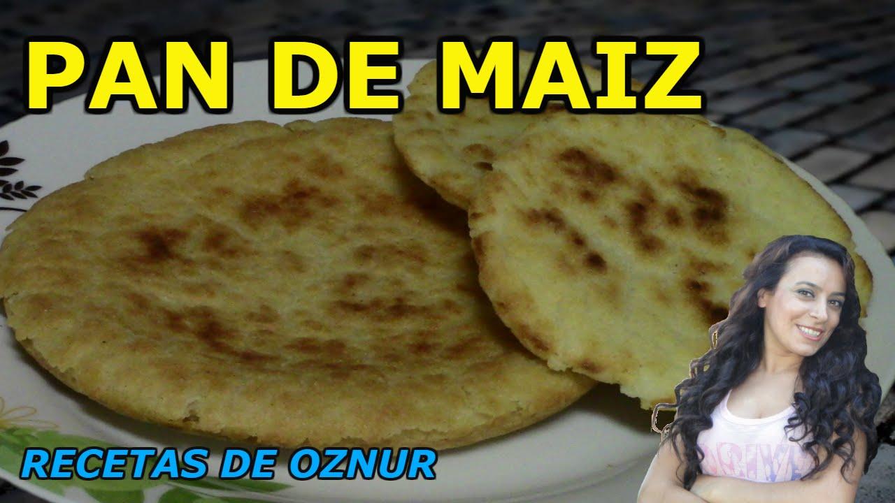PAN DE MAIZ | recetas de cocina faciles rapidas y economicas de hacer - comidas ricas