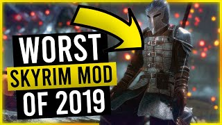 I found the WORST Skyrim Mod of 2019 to play at Christmas!