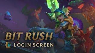 Bit Rush: Arcade 2015 | Login Screen - League of Legends
