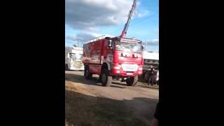 preview picture of video 'dépare du défilé de camion a saint junien'